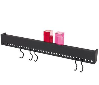Nomess So-Hooked Wall Rack 90 Black