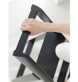 Hasegawa Lucano ML 3 Step Ladder Black