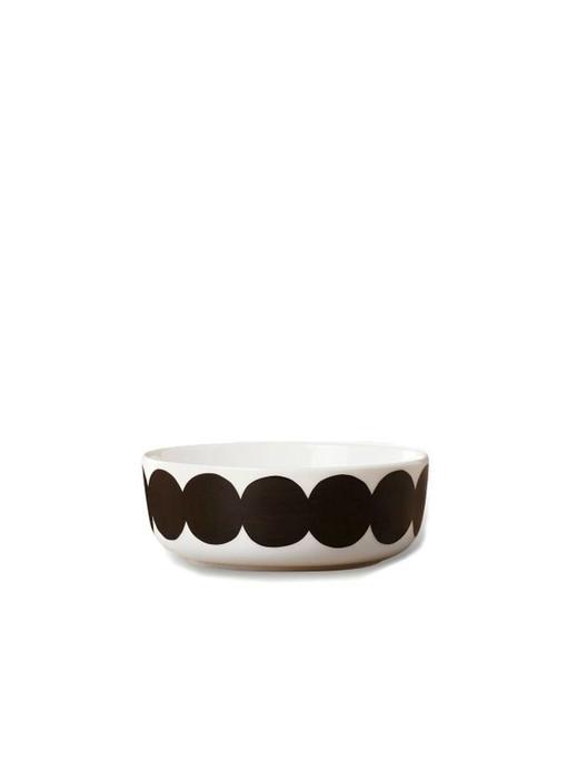 Marimekko IGC Oiva Räsymatto Bowl White/Black 4 dl
