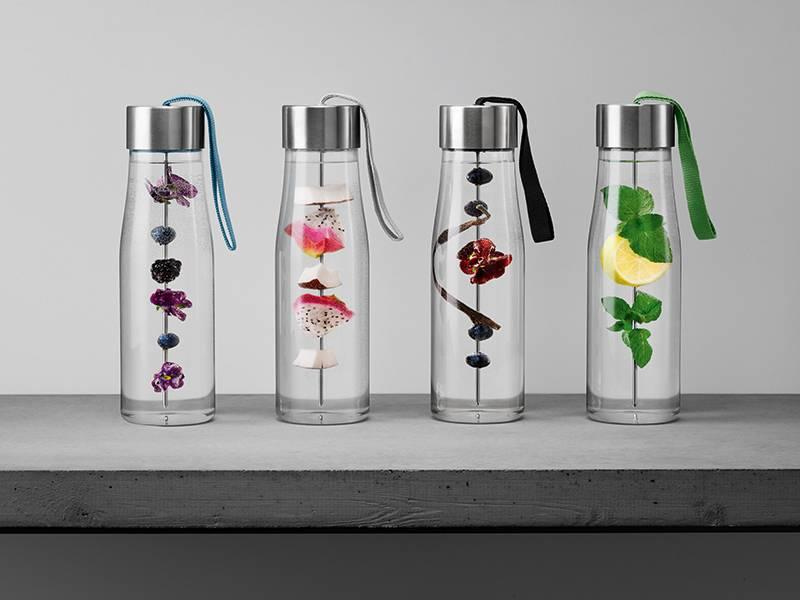 Eva Solo MyFlavour Drinking Bottle Marble Grey