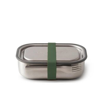 Black+Blum Stainless Steel Lunch Box Olive