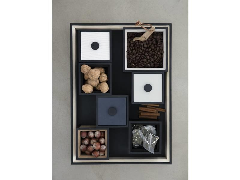 By Lassen Frame Tray Black Stained Ash
