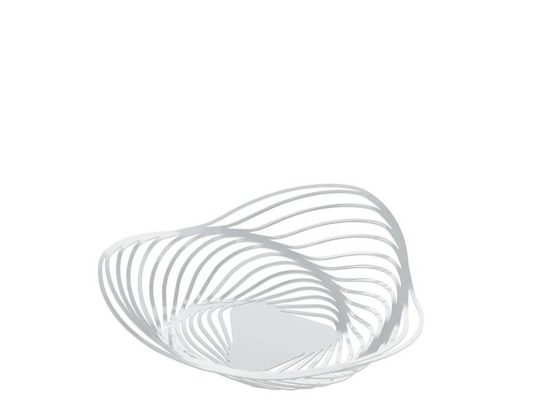 Alessi Trinity Basket White