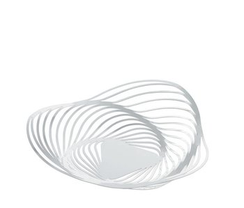 Alessi Trinity Fruit Bowl White