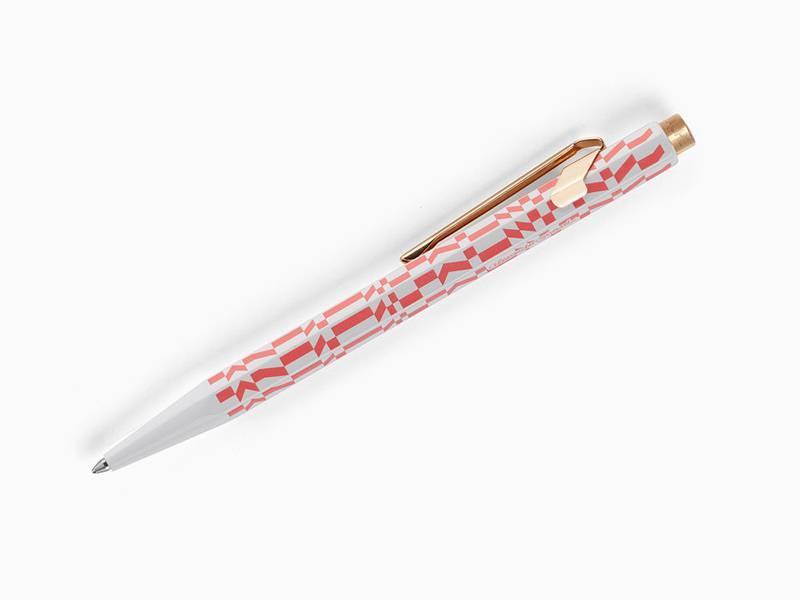 Vitra Caran D'Ache 849 Alexander Girard Ballpoint Pen Pink