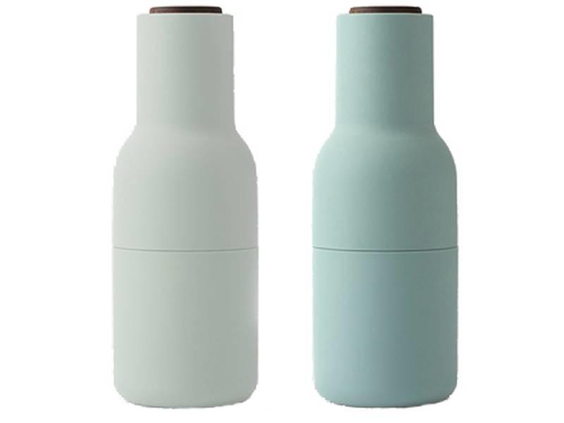 Menu Bottle Grinder Moss Green Walnut 2 pcs.