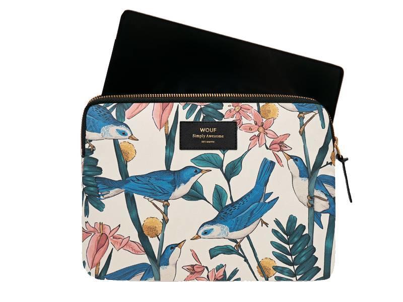 Wouf Birdies iPad Sleeve