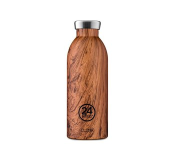 24 Bottles Clima Bottle 500 ml Sequoia Wood