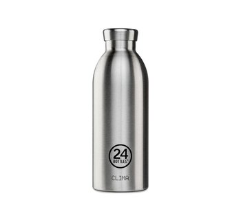 24 Bottles Clima Bottle 500 ml Steel