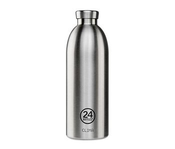24 Bottles Clima Bottle 850 ml Steel