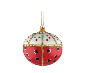 Alessi Home Ornament Re Coccinello