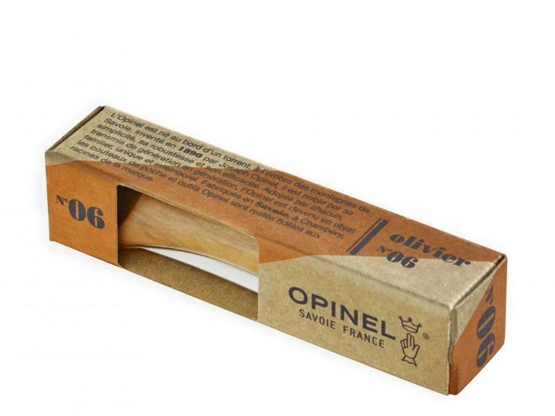 Opinel N°6 Knife Olive Wood