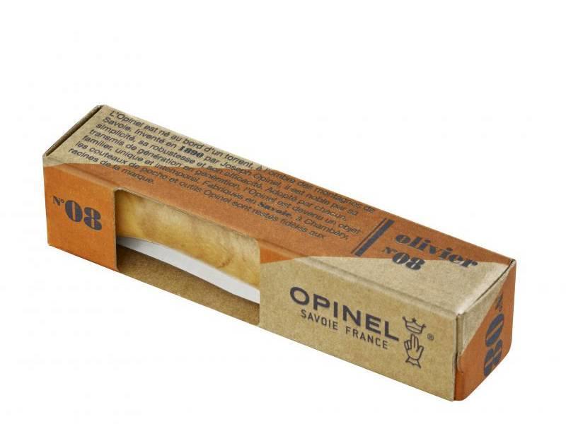 Opinel N°8 Knife Olive Wood