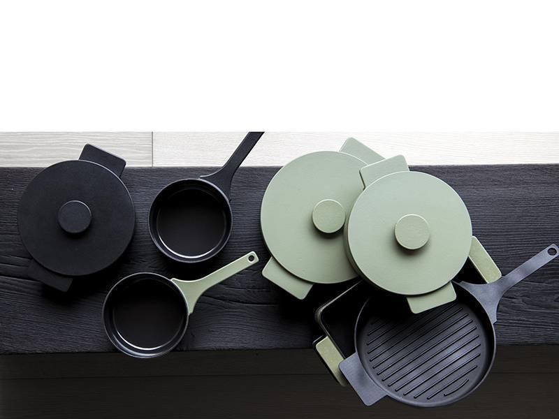 Serax Surface Pot Cast Iron Black 26 cm