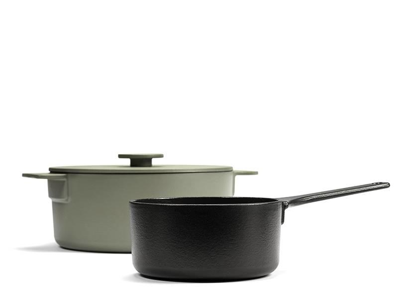 Serax Surface Sauce Pan 17 cm Black