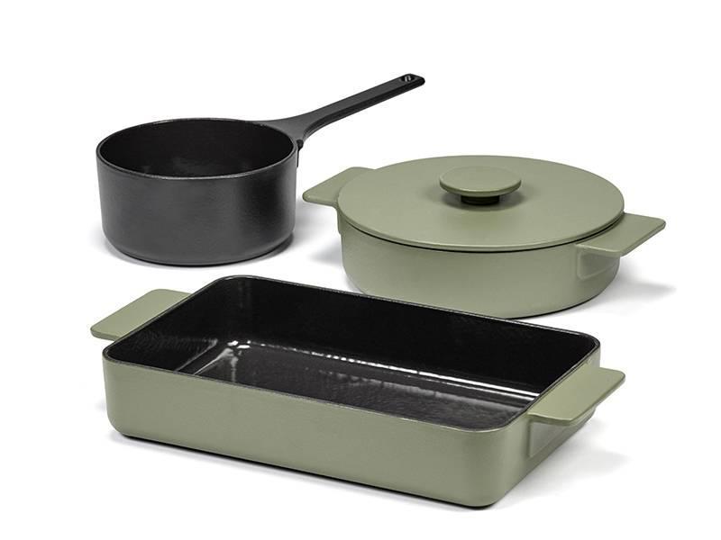 Serax Surface Oven Dish Cast Iron 32/20 Camogreen