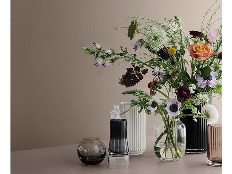 Lyngby Porcelaen Vase Clear 12 cm