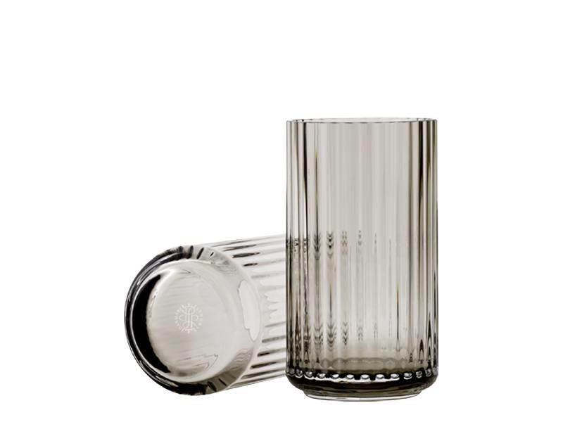 Lyngby Porcelaen Vase Smoke 12 cm