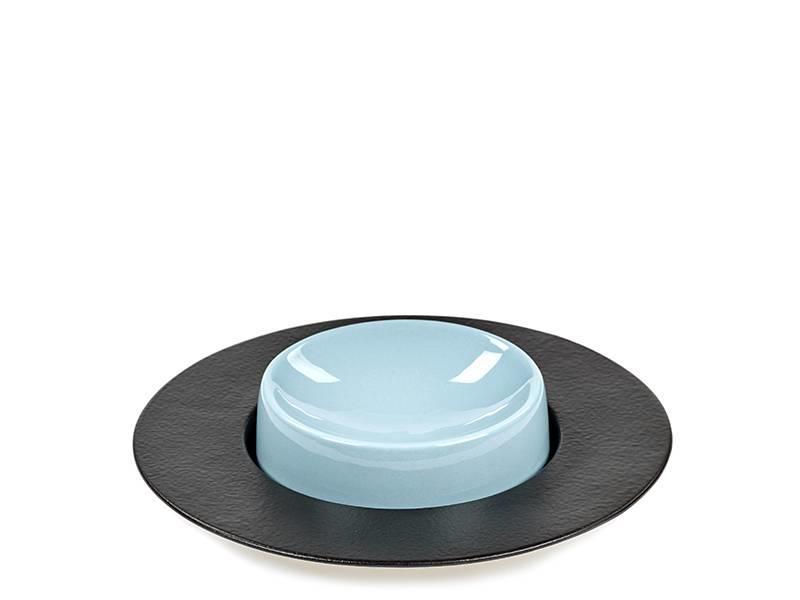 Serax San Pellegrino Cup Plate Low Blue