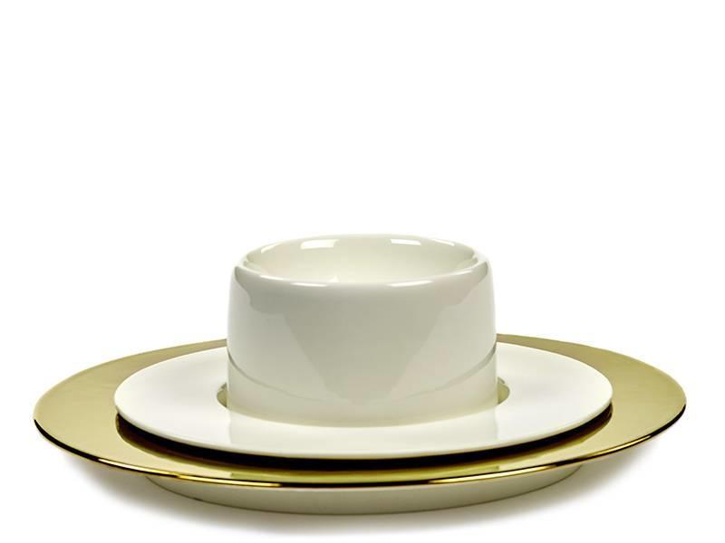 Serax San Pellegrino Cup Plate High White