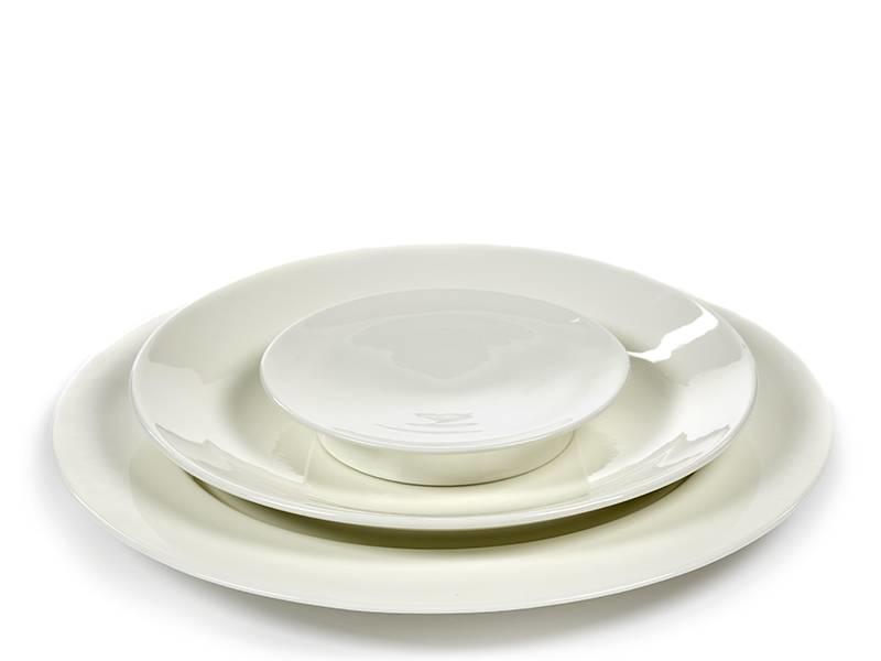 Serax San Pellegrino Plate White