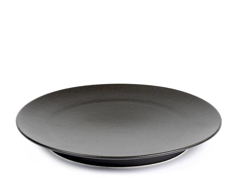 Serax San Pellegrino Plate Black
