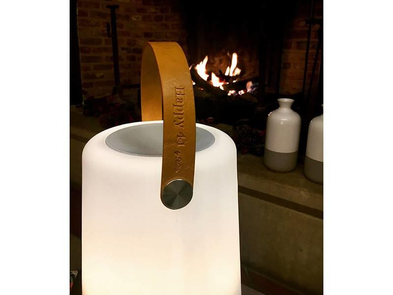 Happy 41 by Marie Led Light Bluetooth Speaker Warm White