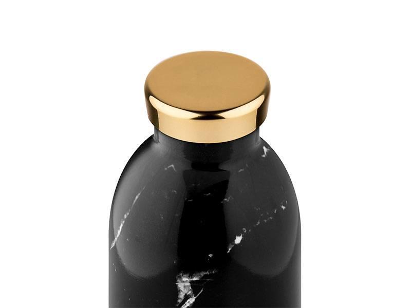 24 Bottles Clima Bottle 850 ml Black Marble