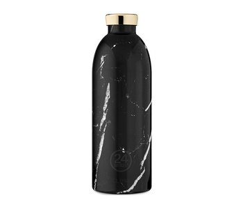 24 Bottles Clima Bottle 850 ml Black Marble