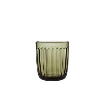 Iittala Raami Glass Moss Green 26 cl
