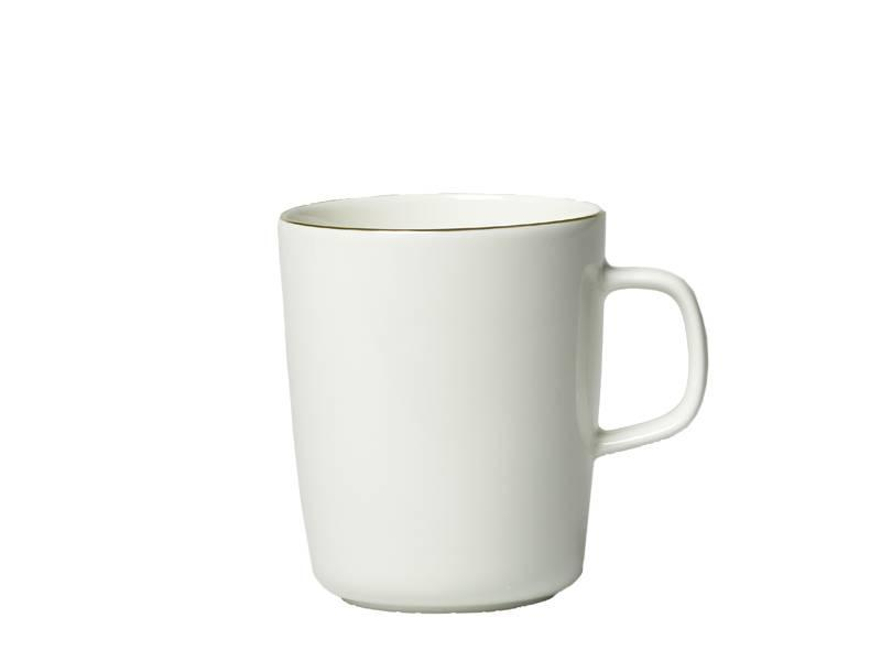 Marimekko IGC Oiva 10 Years Mug White/Gold 2,5 dl