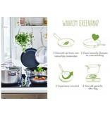 Greenpan Barcelona Evershine 3-Ply Wok 30 cm