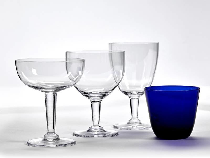 Serax Boxy's Champagne Glass