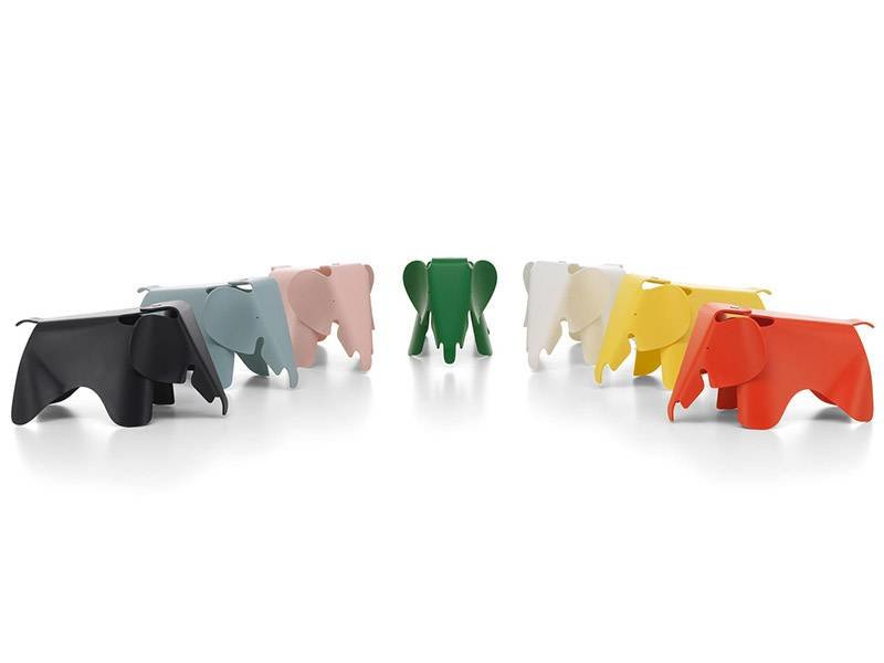 Vitra Eames Elephant Deep Black Small