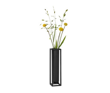 By Lassen Kubus Vase Flora Black
