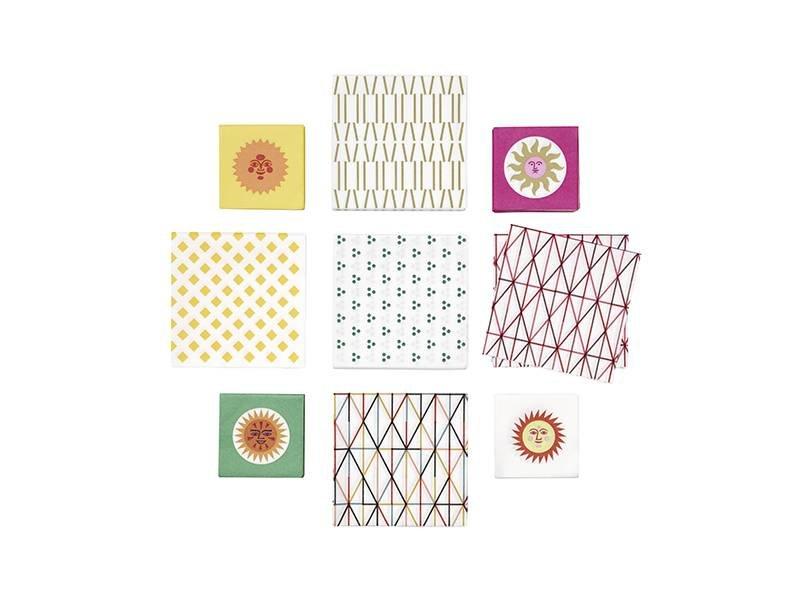Vitra Paper Napkin Small Light Dot Pattern