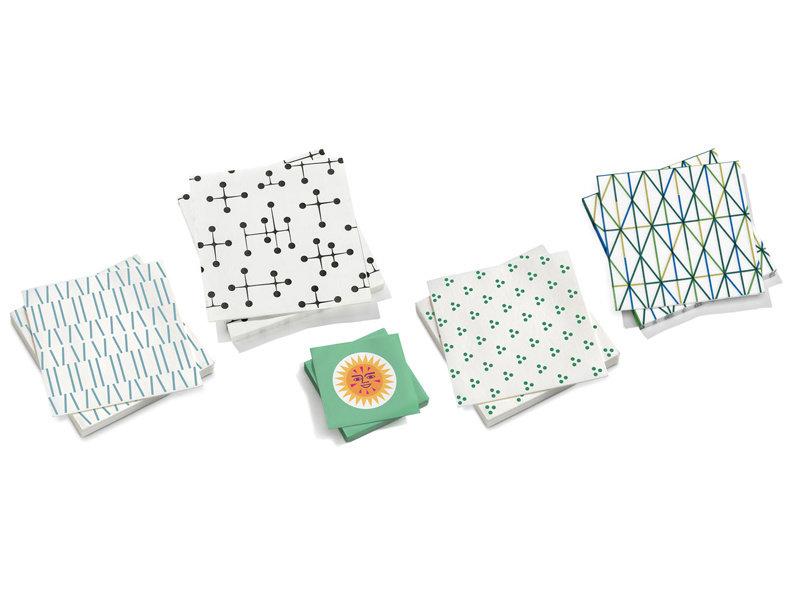 Vitra Paper Napkin Large Light Dot Pattern