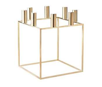 By Lassen Kubus 8 Candle Holder Brass
