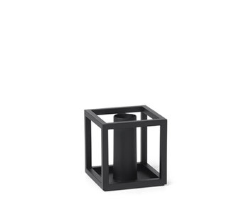By Lassen Kubus 1 Candle Holder Black