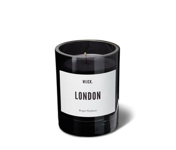 Wijck Scented Candle London Smokey Black