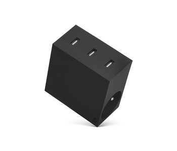 Usbepower Hide Powerhub 5 In 1 Black