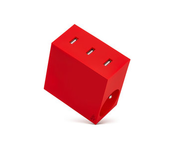 Usbepower Hide Powerhub 5 In 1 Red