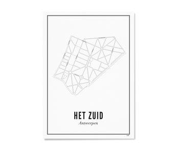 Wijck Poster Antwerp Het Zuid 30/40