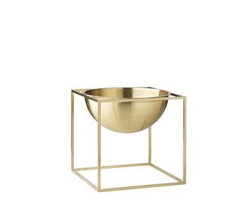 By Lassen Kubus Bowl Small Brass