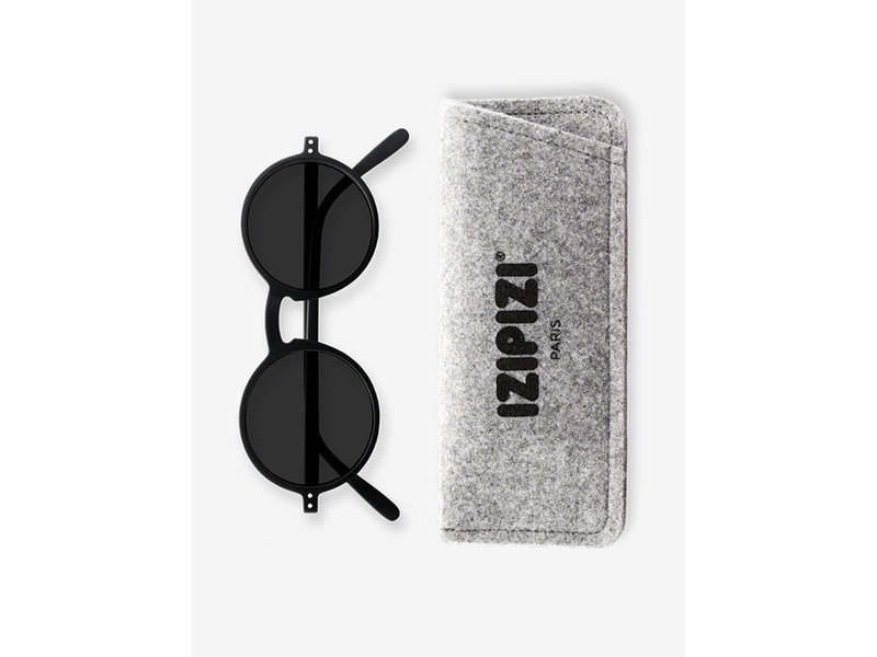 Izipizi Sunglasses #G Black +0