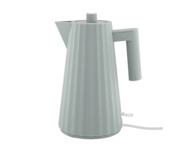 Alessi Plissé Electric Kettle 1,7 l Grey