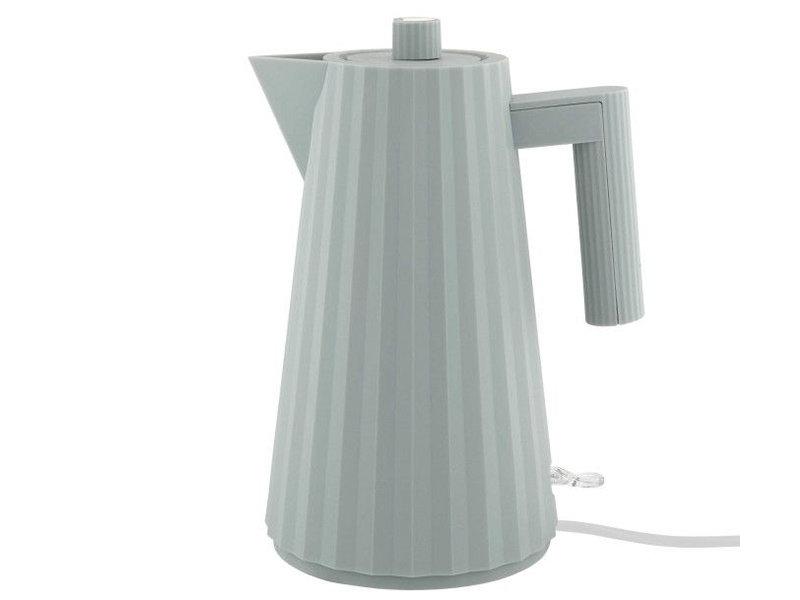 Alessi Plissé Electric Kettle 1,7 l Grey