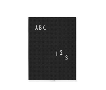 Design Letters Letterbord A4 Zwart