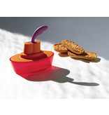 Alessi Ship Shape Container With Small Spatula