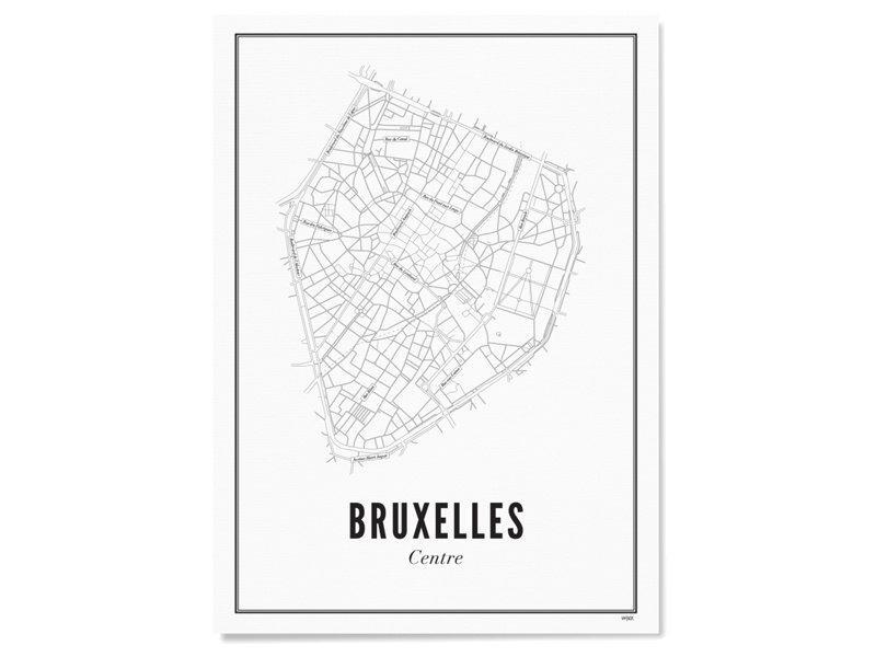 Wijck Poster Brussels Centre 30/40